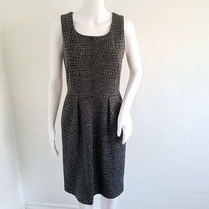 Calvin Klein Gray Sleeveless Sheath Dress 4